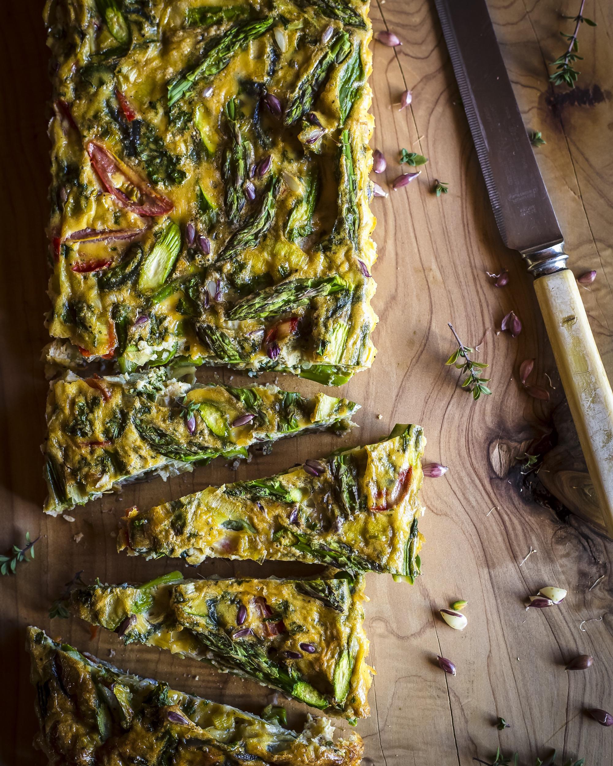 Garden Vegetable Crustless Quiche: Lee Holmes: Crustless Vegetable Quiche