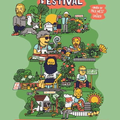 Grow It Local Festival Poster - Signed by Costa