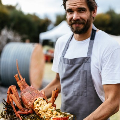 How to make backyard lobster pasta with Mark Labrooy (Three Blue Ducks)