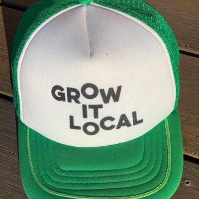 Grow It Local Trucker Hat